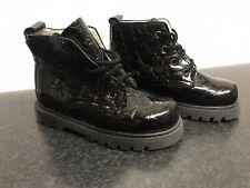 MOD 8 Patent Leather Boots Made In France Size 26