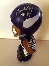 Fred Cox, NFL Minnesota Vikings GREAT Limited Ed. SIGNED Bobblehead - (New)