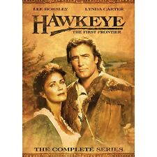 Hawkeye . The First Frontier . The Complete Series .. Lederstrumpf . 4 DVD . NEU