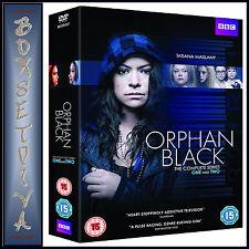 ORPHAN BLACK - COMPLETE SERIES 1 & 2  *BRAND NEW DVD BOXSET***