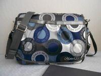 Coach NWT F18377 Snaphead Messenger/Diaper Bag Multicolor