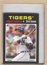 Miguel Cabrera TM-6 2013 Topps Update 1971 Mini