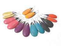 Bijou alliage argenté authentiques boucles d'oreilles pendantes galuchat earring