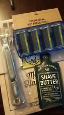 Dollar Shave Club Executive Razor Handle + 4 Refills w/ 6 Blade shave butter