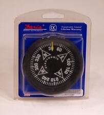 "Faria 4"" Euro Black Fluxgate Compass Gauge #32820"