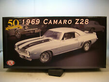 SILVER 1969 CHEVROLET CAMARO Z/28 ACME 1:18 SCALE DIECAST METAL MODEL CAR
