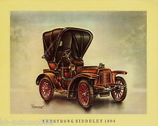 Poster Oldtimer Armstrong Siddeley 1904 37,5x30,5 cm Oldtimerposter Autoposter