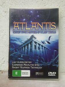 ATLANTIS DVD - UFO TV - Documentary Lost Civilisations Conspiracys Aliens