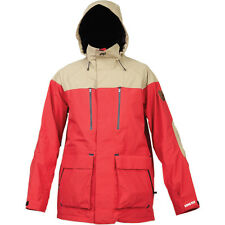Analog Zenith Gore-Tex Jacket - Men's Medium M Red / Khaki Coat - Snowboard Ski