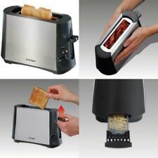 CLOER Toaster Minitoaster für eine Toastscheibe Single-Toaster Edelstahlgehäuse