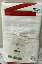Pottery Barn Naughty and Nice Organic STANDARD pillowcases pillow case CHRISTMAS