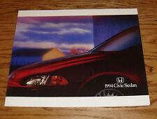 Original 1994 Honda Civic Sedan Deluxe Sales Brochure 94