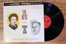 LP: Living Stereo: 176 Keys: Vronsky and Babin vinyl record LSC-2417