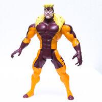 "1993 ToyBiz Marvel Uncanny X-Men SABERTOOTH 5"" Action Figure   Loose   Free S&H"