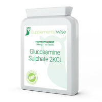Glucosamine Sulphate Capsules 1500mg x 60 2KCL HIGH STRENGTH Joint Health