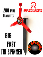 TRI SPINNER STAKE TARGET FOR AIR RIFLES AIRGUN