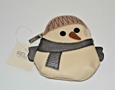 RELIC COIN PURSE SNOWMAN BRAND NEW WITH TAGS IN PACKAGE