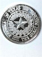 REPUBLIC OF TEXAS THE GREAT NATION  PURE ONE GERAH SILVER COIN Lot of 5