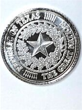 REPUBLIC OF TEXAS THE GREAT NATION  PURE ONE GERAH SILVER Lot of 5
