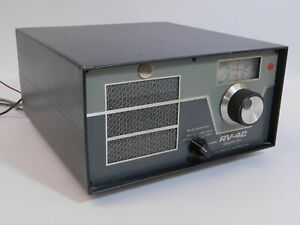Drake RV-4C Remote VFO for TR-4C Ham Radio Transceiver (untested, looks good)