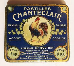 Pastilles Chanteclair / Pharmacie - Maux de gorge / ca. 1900-10