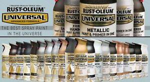 Rustoleum Universal Aerosol Rust Prevention Spray Paint *Choose your colour*