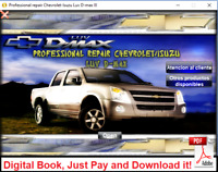 WORKSHOP MANUAL OR REPAIR MANUAL ISUZU / CHEVROLET LUV  D-MAX 2007 - 2012