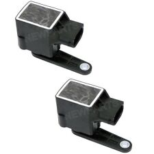 For BMW E39 E53 E66 5 7-Series Pair Set of 2 Rear Suspension Level Sensors OEM
