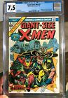 Giant Size X Men #1 CGC 7.5 WHITE Pages Perfect Wrap Looks 8.5 BEAUTY Wolverine!