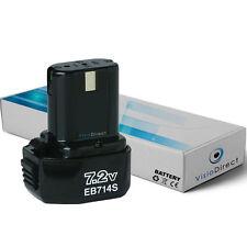 Batterie 7.2V 1500mAh pour Hitachi EB7S FDS 7DVA FDS7DVA FEB 7S FEB7S NR 90GC