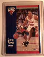 1991 Fleer Scottie Pippen #33