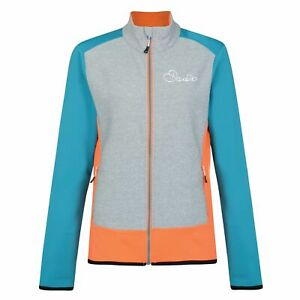 Womens Dare2b Immerge Stretch Water Repellent Sporty Softshell Jacket RRP £50