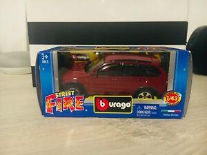 BBurago Burago 1/43 1 43 BMW X5 Rossa
