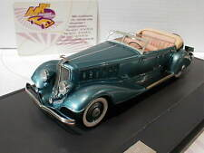 """Matrix 50303-021 # Chrysler Imperial Custom Cabrio Baujahr 1933 """" blau """" 1:43"""