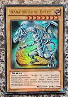 Drache SKE-DE001 Super Rare DE P 1st ! Blauäugiger W
