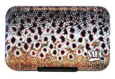 Montana Fly Company Mfc Sundell'S Brown Trout Skin Poly Fly Box With Slit Foam