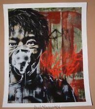 Eddie Colla Can't Breathe the Sky Art Print Poster Graffiti
