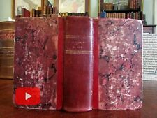 Rome Roma Italia Italy 1827 guide book w/ 2 city plans & 51 engraved views