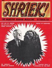 Terrorizer Horror & Monster Magazines