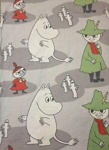 VINTAGE Moomin Cotton Duvet Cover Finlayson Size 155x115 cm / 61 x 45,3 inches