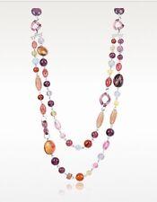 Antica Murrina Soul 1-- Handmade Murano Glass Bead Double Strand Necklace