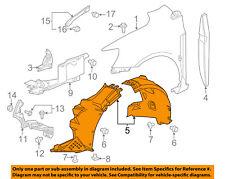 Chevrolet GM OEM 12-16 Sonic-Front Fender Liner Splash Shield Left 95072280
