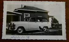 CHEVROLET STYLELINE 1949 Station Wagon original vintage photo - Canada - Quebec