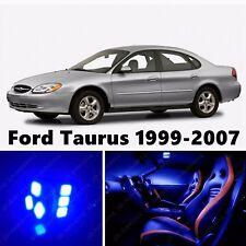 12pcs LED Blue Light Interior Package Kit for Ford Taurus 1999-2007