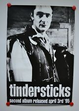 Poster - TINDERSTICKS - Second Album Release 1995 - Top - Rare Promo