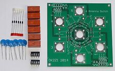 6:1 Kurzwellen Antenne Schalter Bausatz  N-Stecker oder SO-239