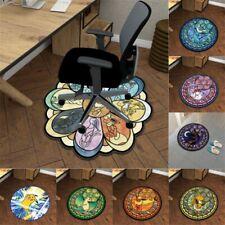 Pokémon Eevee Manga Plush Floor Rug Carpet Room Doormat Non-slip Round Floor Mat