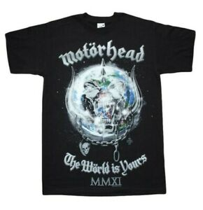 Motorhead - The World is Yours 2011- Front print - Ex Tour Men's t shirts