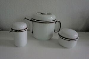 Thomas Scandic Shadow Teekanne Zuckerdose Milchkännchen neu