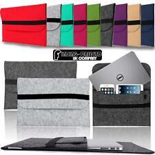 "Wool Felt Sleeve Cover Case BAG For 14"" Dell Latitude Chromebook Laptop Notebook"